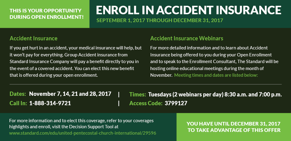 enroll in accident insurance