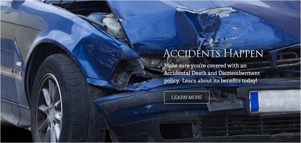 Accidents happen - car in an accident